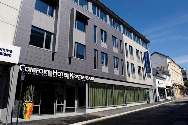 Hotell - Kristiansand - Comfort Hotel Kristiansand